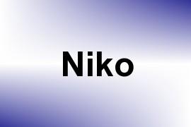 Niko name image