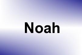 Noah name image