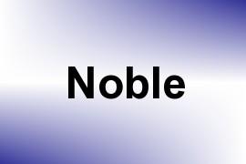 Noble name image
