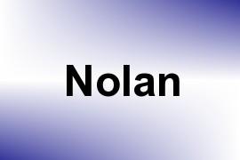 Nolan name image