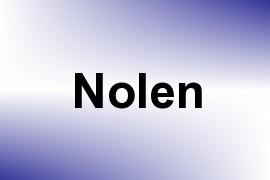 Nolen name image