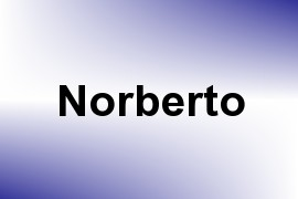 Norberto name image