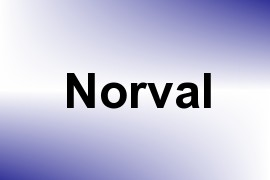Norval name image