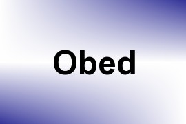 Obed name image
