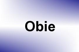 Obie name image