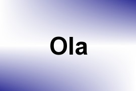 Ola name image