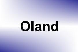 Oland name image