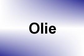 Olie name image