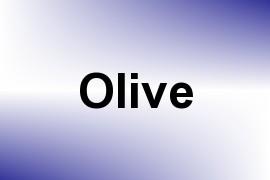 Olive name image
