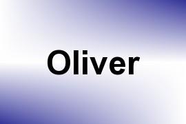 Oliver name image