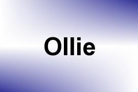 Ollie name image