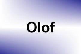 Olof name image