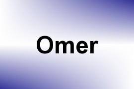 Omer name image
