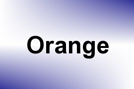 Orange name image