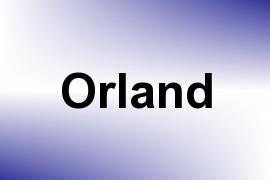 Orland name image