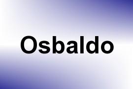Osbaldo name image