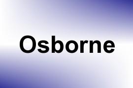 Osborne name image