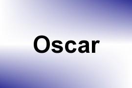 Oscar name image