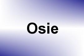 Osie name image