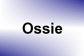 Ossie name image