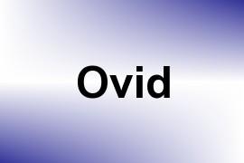 Ovid name image