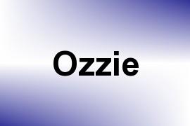 Ozzie name image