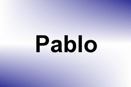 Pablo name image