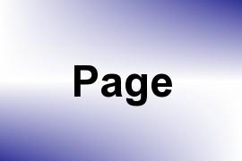 Page name image