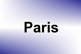 Paris name image