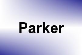 Parker name image