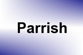 Parrish name image