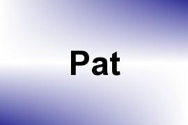 Pat name image