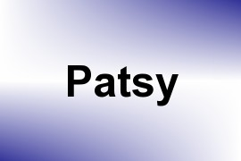 Patsy name image
