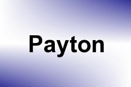 Payton name image