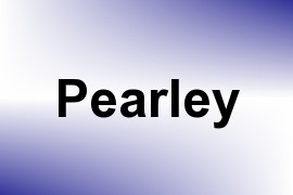 Pearley name image