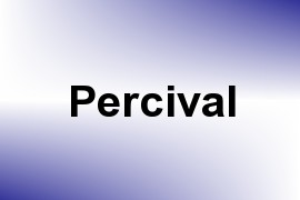 Percival name image
