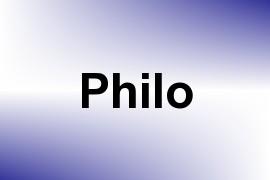 Philo name image