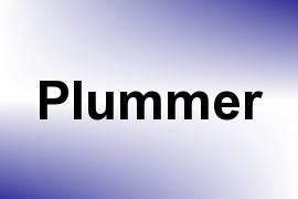 Plummer name image