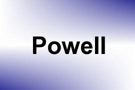 Powell name image