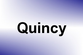 Quincy name image