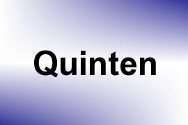 Quinten name image