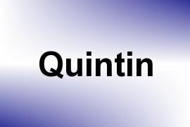 Quintin name image