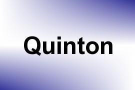 Quinton name image