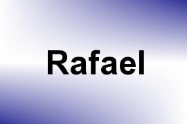 Rafael name image