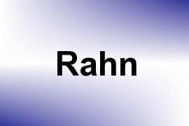 Rahn name image