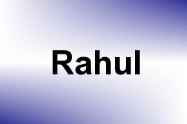 Rahul name image