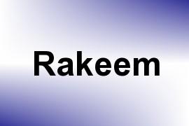 Rakeem name image