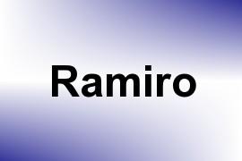 Ramiro name image