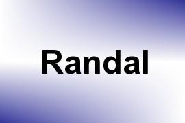 Randal name image