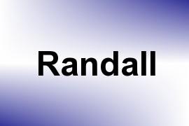 Randall name image